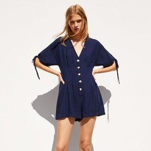 Zara Rustic Jumpsuit Size XS